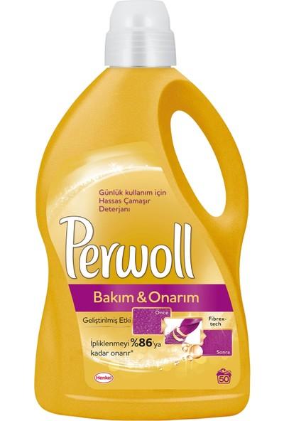 Perwoll Bakım ve Onarım Hassas Çamaşır Deterjanı 3 lt 50 Yıkama