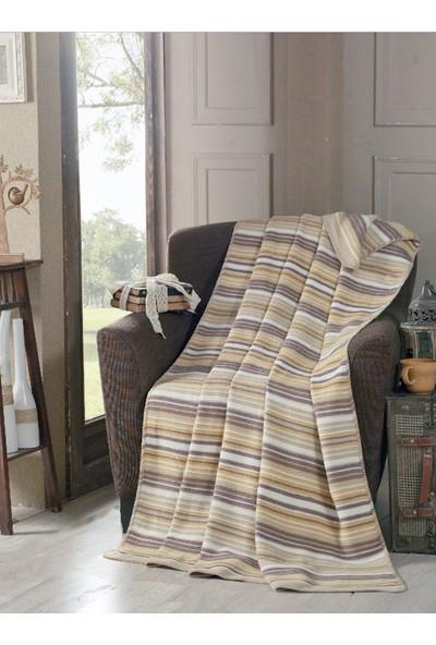 Komfort Home Çift Kişilik Terrycotton Battaniye 180X220 Cm