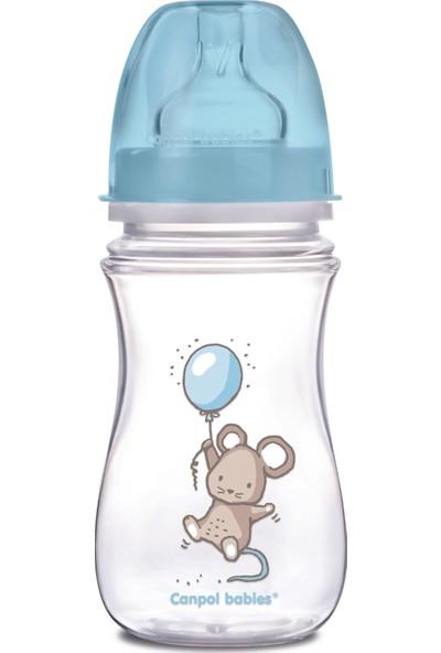 Canpol Babies Little Cutie Collection Antilolik Biberon Erkek 3+ Ay 250 ml