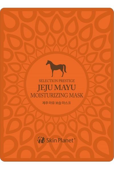 Selection Prestige Jeju Mayu Moisturizing Mask - At Yağlı Yüz Maskesi
