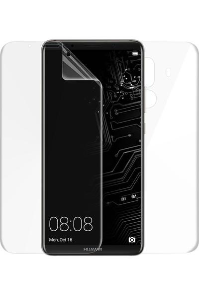 Case 4U Huawei Mate 10 Pro Erkan Koruyucu Ön + Arka Tam Ekran Kaplayıcı Film