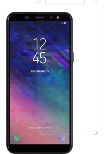Case 4U Samsung Galaxy A6 Plus 2018 Ekran Koruyucu - Nano Cam
