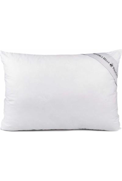Eponj Home Polo Silikon Yastık Pamuklu 50 x 70 cm Nelsy Beyaz