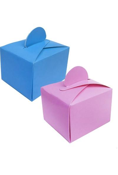 Tahtakale Toptancısı Lokumluk Karton Düz Renk (50 Adet)