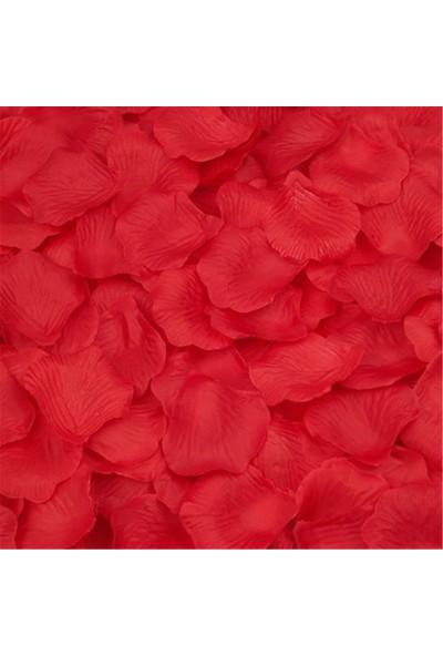 Tahtakale Toptancısı Yapay Kırmızı Gül Yaprağı (Yapay Gül Yaprağı) (144 Adet)