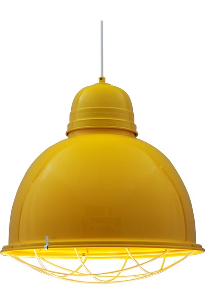 Bamyum Retro Sarı Avize