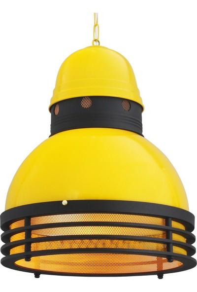 Bamyum Lincoln Sarı Spot Avize