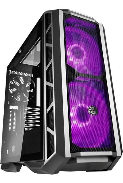 Cooler Master Case H500P Siyah Mesh Panel RGB LED Fanlı Super MidTower Kasa (MCM-H500P-MGNN-S10)