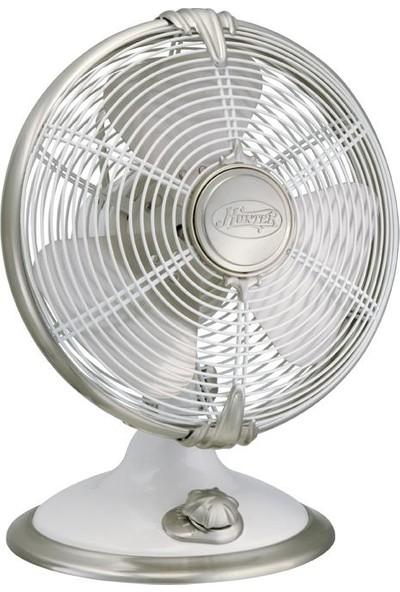 Hunter - Metropolitan Beyaz - 30,5 Cm. Masa Fanı