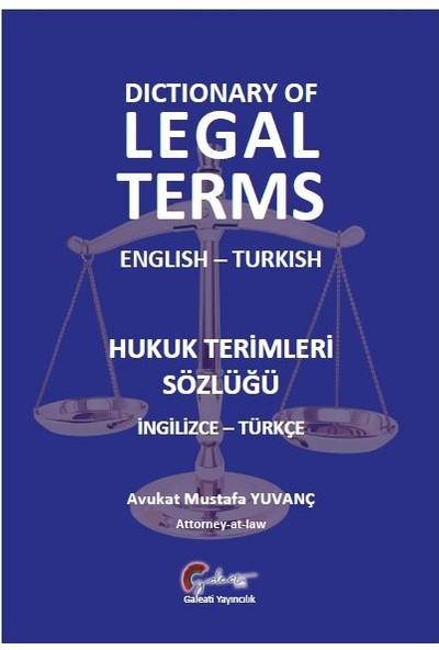 Hukuk Terimleri Sözlüğü (İngilizcetürkçe)Ciltli - Mustafa Yuvanç