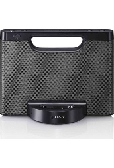 Sony Rdp M5İp 30 Pin İphone İpod Taşınabilir Hoparlör Yuvası Siyah