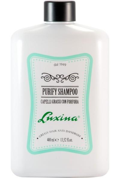 Luxina Erkek Purify Kepeğe Karşı Arındırıcı Şampuan 400 ml