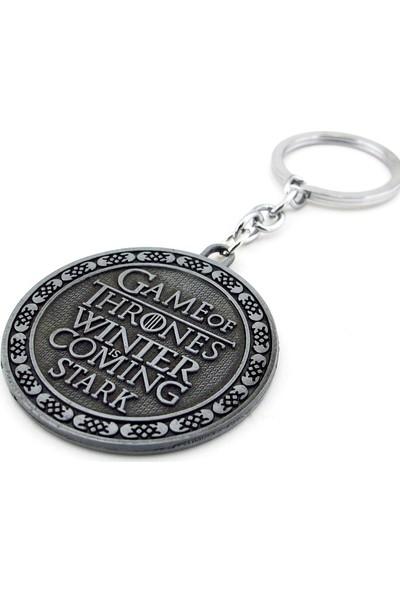 Solfera Game Of Thrones Stark Hanesi Kurt Metal Anahtarlık Kc735