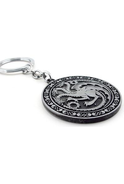 Solfera Game Of Thrones Targaryen Hanesi Ejderha Anahtarlık Kc737