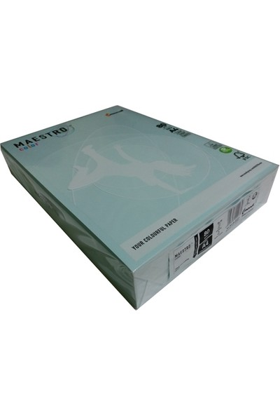 Mondi Mavi Renkli A4 Fotokopi Kağıdı 80 Gr 500 Adet