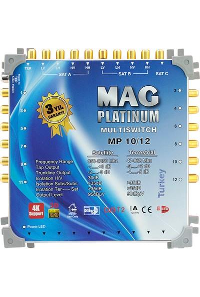 Mag Platınum 10*12 Sonlu Uydu Santrali