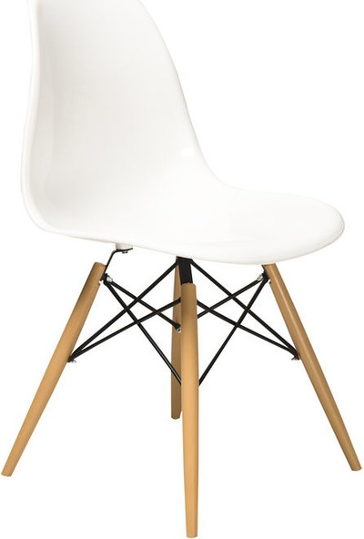 Moon Design Eames Sandalye Beyaz