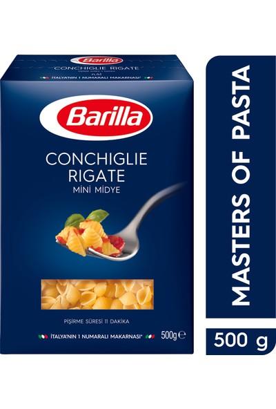 Barilla Mini Midye/ Conchiglie Rigate Sade Makarna 500 Gr