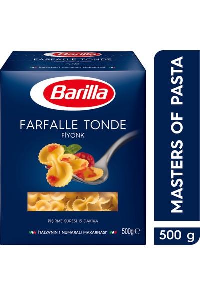 Barilla Fiyonk/ Farfalle Tonde Sade Makarna 500 Gr