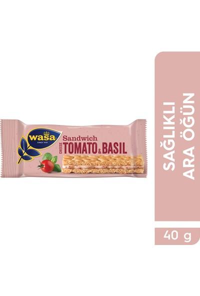 Wasa Domates Ve Fesleğenli Krem Peynirli Sandviç/ Wasa Sandwich Cheese & Tomato & Basil
