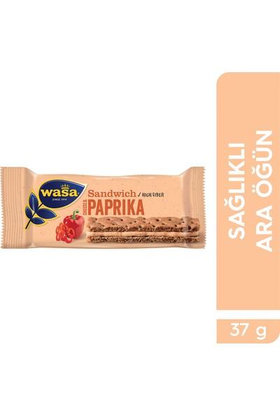 Wasa Kırmızı Biberli Ve Krem Peynirli Sandviç/ Wasa Sandwich Cheese & Paprika
