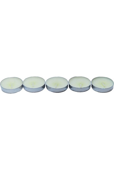 Ksmart Tea Lights Beyaz Mum 5Ad