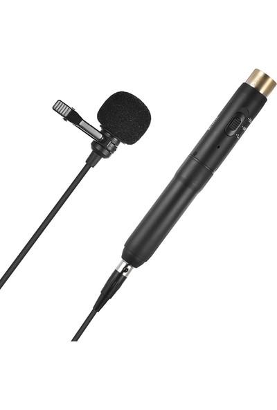 Boya BY-M11C Tek Yönlü XLR Yaka Mikrofonu
