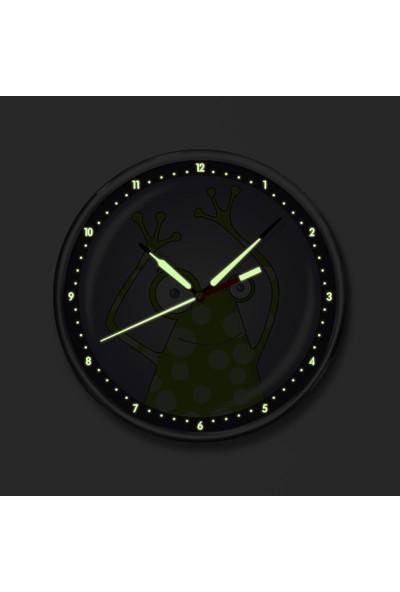 Dekor Loft Premium Gece Parlayan Çocuk Odası Duvar Saati FS-1502