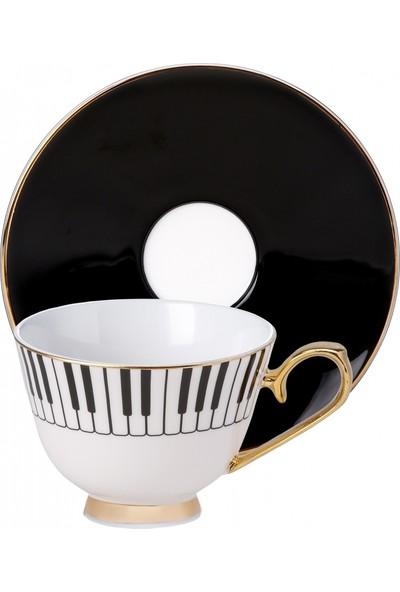 Karaca Unicef Kerem Görsev 2 Kişilik Kahve Fincan Takımı Np17
