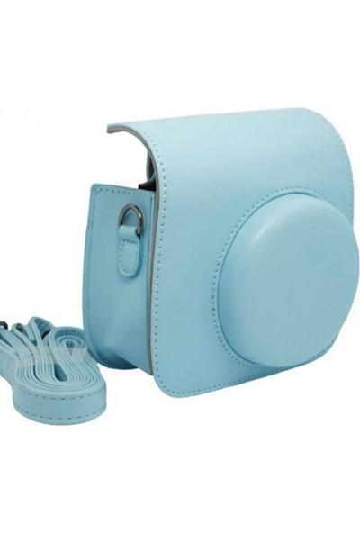 Fujifilm İnstax Mini 8 9 Çanta Mavi