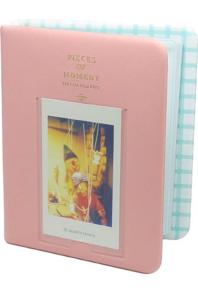 Fujifilm İnstax Mini 8 9 Fotoğraf Albümü Pembe