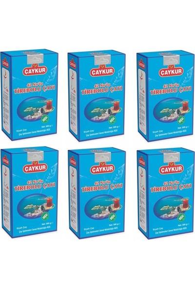 Çaykur 42 Nolu Tirebolu Çay 6 Ad. 500 gr