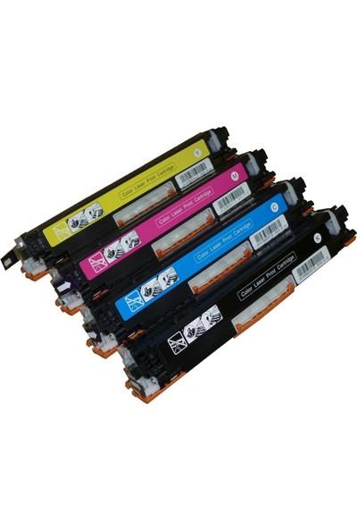 GörkemBüro® HP CP1025/CP1025nw/M175/M175A/M175nw/M275/CE310A Toner TAKIM