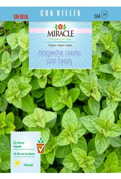Miracle Tohum Miracle Mercanköşk Tohumu (200 tohum)