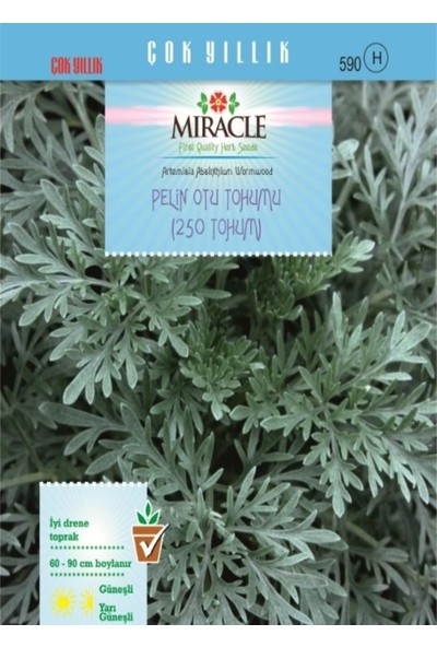 Miracle Tohum Miracle Pelin Otu Tohumu (250 tohum)