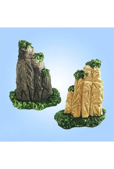 E-fidancim Minyatür Dağ Tepe Teraryum İçin