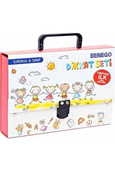 Benego Smart Görsel Dikkati Güçlendirme Seti İlkokul 4.Sınıf + Hikaye Küpleri