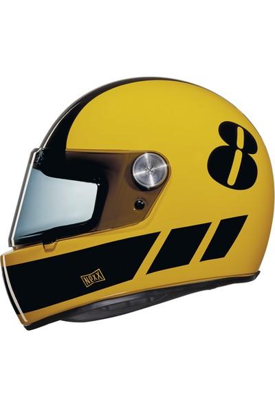 Nexx X.G100 Racer Billy B Sarı-Siyah Kask
