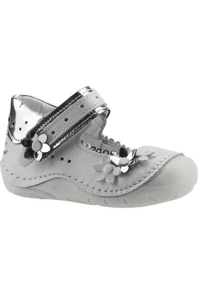 Teo Bebe 4150 Gümüş Kız Çocuk Ayakkabı