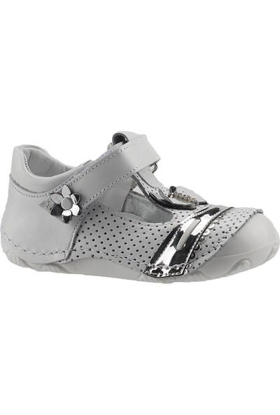 Teo Bebe 4000 Gümüş Kız Çocuk Ayakkabı