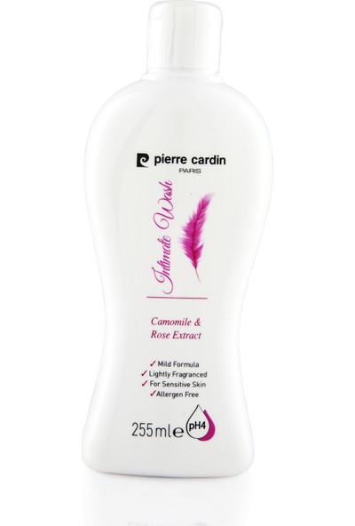 Pierre Cardin Papatya ve Gül Özlü pH Dengeli Genital Bölge Temizleme Sıvısı - 255 ML