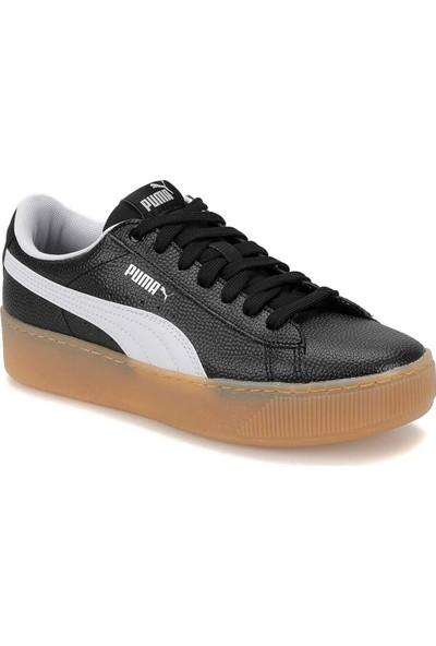 Puma Vikky Platform Siyah Beyaz Kadın Sneaker