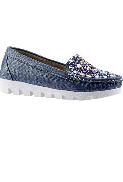 Sema 45 Mavi Kız Çocuk Ayakkabı