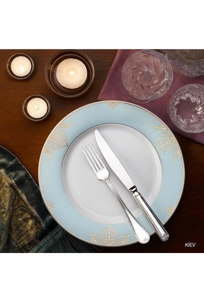 Hisar Kiev 85 Prc Fine Bone Porselen Yemek Takımı