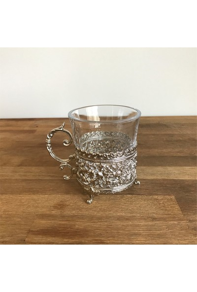 Buconcept Çiçekli Nescafe Bardağı