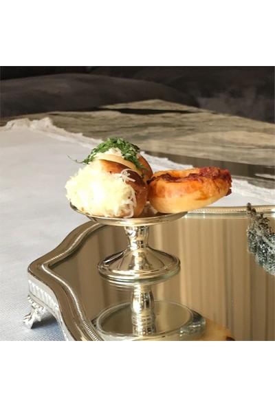 Buconcept Ayaklı Lokumluk Makaronluk Cupcake Servisi