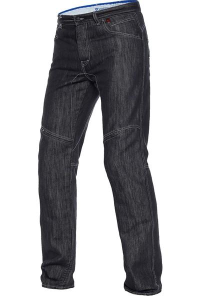 Dainese D1 Evo Jeans Black Aramid Denim Pantolon