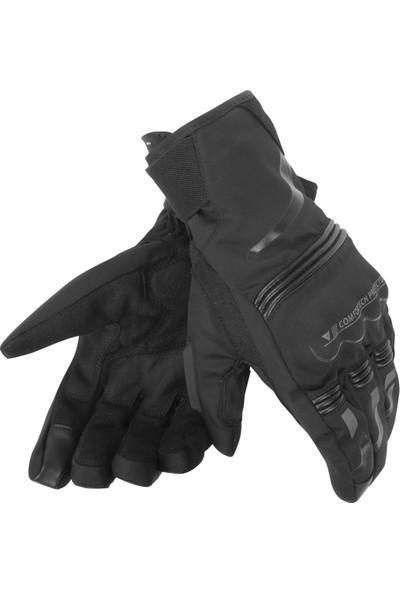 Dainese Tempest Unisex D-Dry Short Eldiven Baclk Black