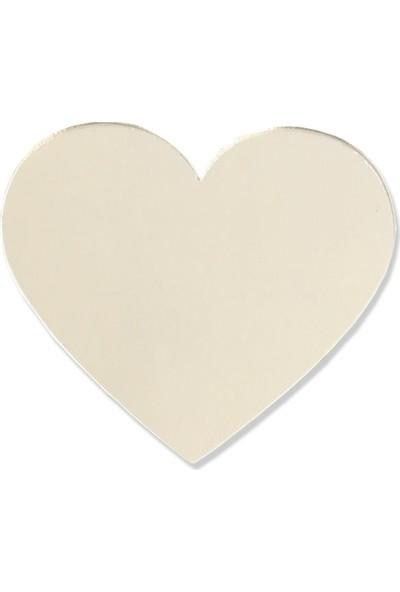 LazerAtölye Pleksi Kalp Aksesuar Süsleme Elemanı
