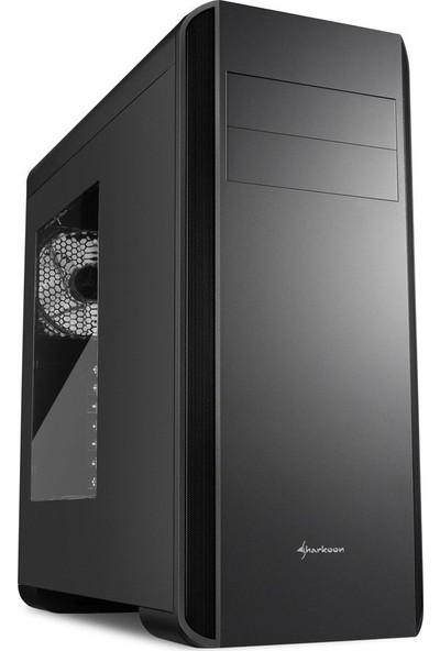 Sharkoon BW9000-W Siyah ATX 2x140mmFan Kasa